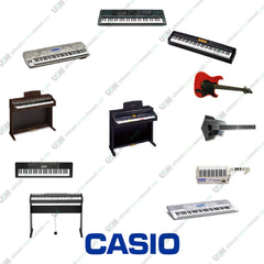 CASIO Ultimate Keyboards Piano repair service manuals   120 manuals on  DVD
