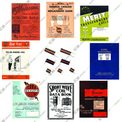 RF Shortwave Radio Coils Winding Handbooks & Catalogs Reference Manuals Collection