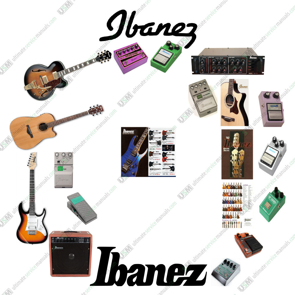 Ibanez Ultimate Owner Repair Service Schematics Manuals Catalogs Ts808 Wiring Diagram Collection