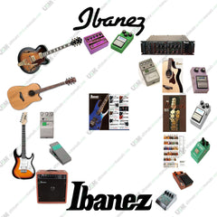IBANEZ Ultimate Owner, Repair, Service Schematics & Catalogs Collection