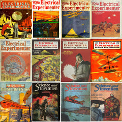 Electrical Experimenter Ultimate Magazines Collection (143 PDF Issues on DVD)