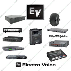 Electro-Voice  EV   Ultimate repair, service manuals, service data manuals & schematics  (PDFs on DVD)