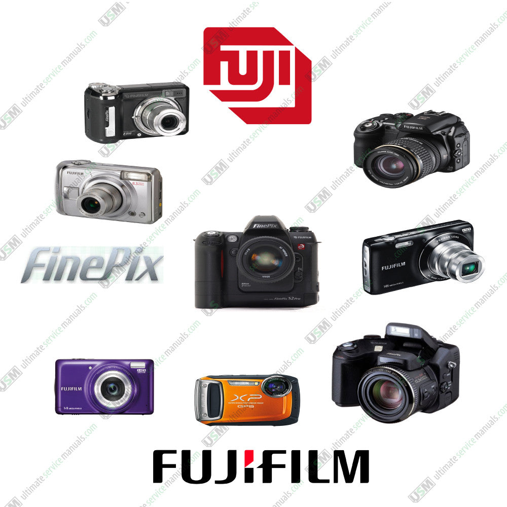 Fujifilm Finepix digital cameras Ultimate repair service manuals