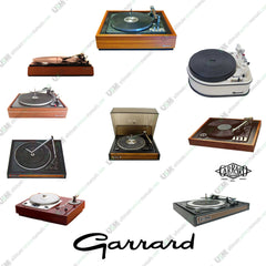 GARRARD  Ultimate owners & repair service manuals