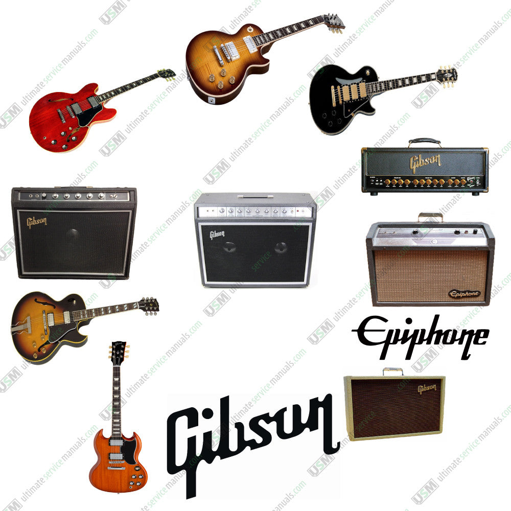 Gibson Amplifier Schematics Electrical Wiring Diagrams Explorer Schematic Epiphone Ultimate Repair Service Manuals On Diagram