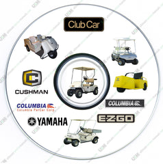 Ultimate Club Car Columbia ParCar Golf Car Cart Service Workshop Manual s on DVD