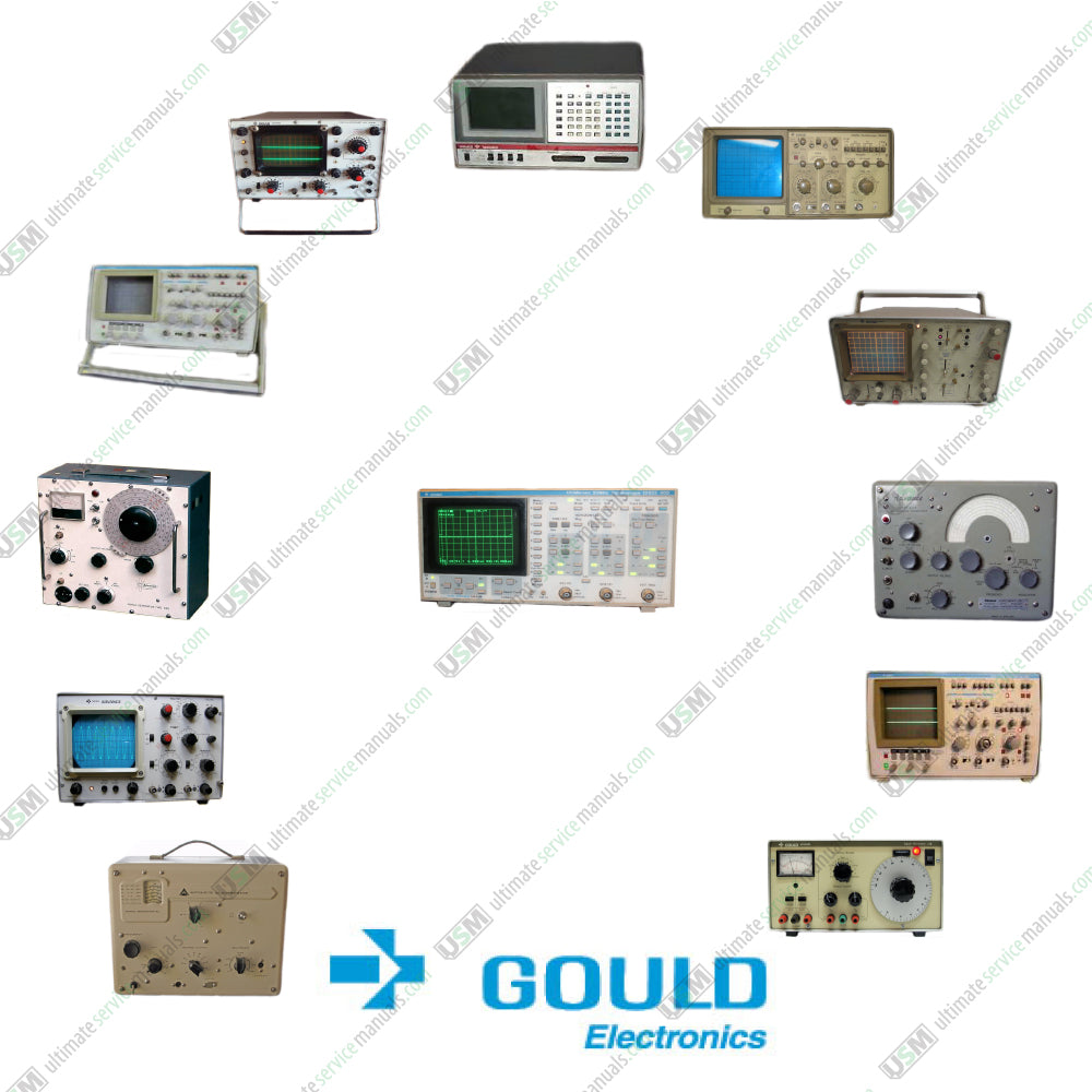Gould & Advance Electronics Ultimate Operation & Service manuals on