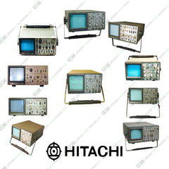 Hitachi Oscilloscope  Ultimate  Operation, Repair & Service manuals on DVD