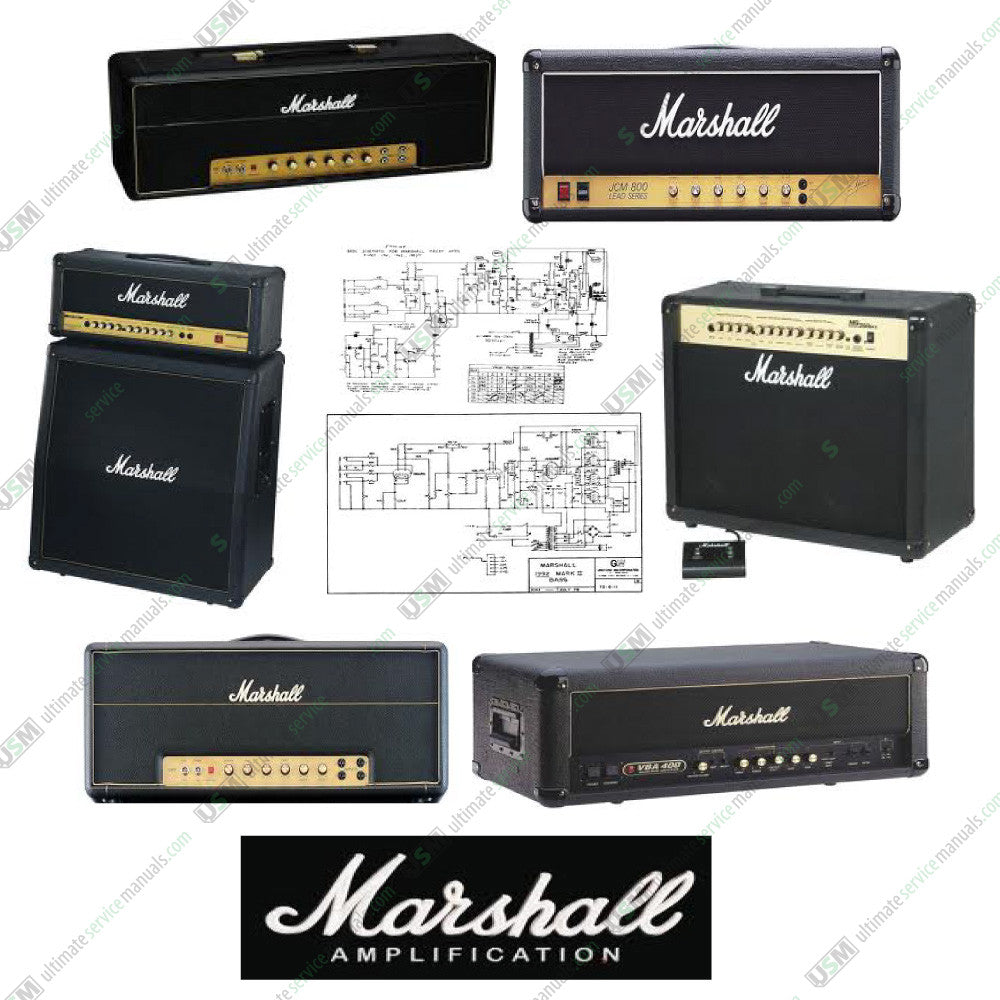 MARSHALL Ultimate Schematics (no service manuals) | Ultimate Service