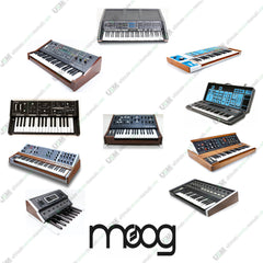Moog  Ultimate owners, repair, service manuals & schematics