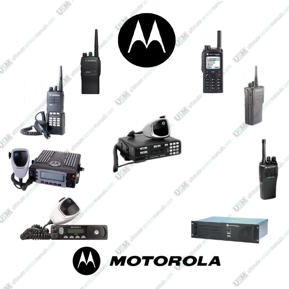 MOTOROLA Ham Radio Ultimate repair service & Owner manuals