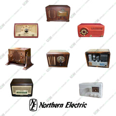 Northern Electric Vintage Audio Radios Ultimate repair, service manuals  &  Schematics