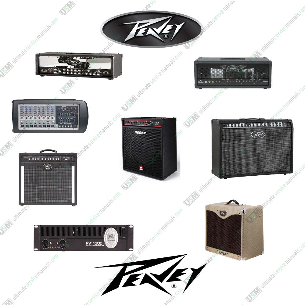 Peavey ultimate owner manuals, schematics, boards layout, parts.