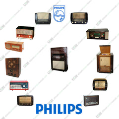 PHILIPS Vintage Audio Radios TV  Ultimate repair, service manuals  &  Schematics