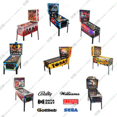 Pinball Machine Ultimate Operation Care Repair Service Manuals on DVD