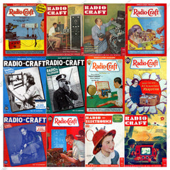 Radio Craft & Radio-Electronics Magazines Ultimate Collection (844 PDF Issues on 3 DVD)