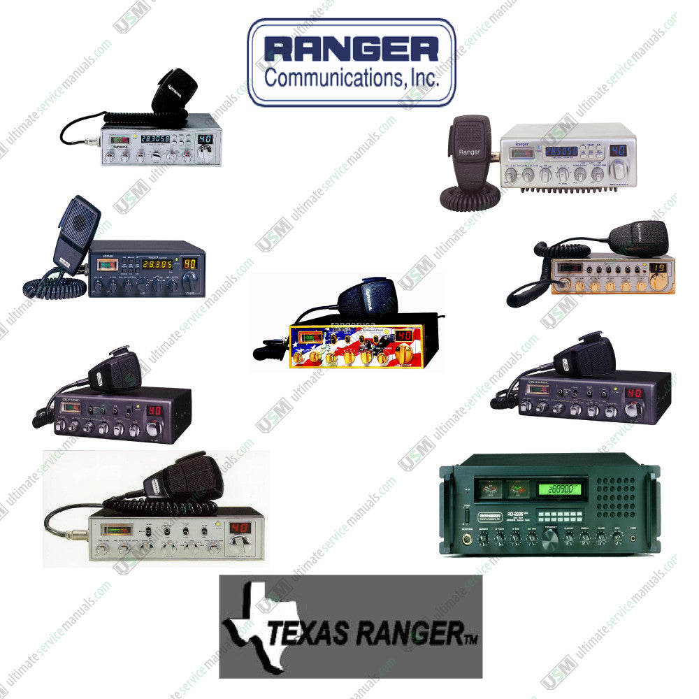 Ranger  Vhf Cb Radio Repair