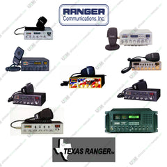RANGER - TEXAS RANGER  Ultimate UHF/VHF CB radio repair service & owner manuals
