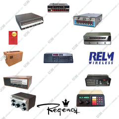 Regency RELM  Ultimate UHF/VHF CB Radio repair service & owner manuals