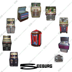 Seeburg Jukebox  Ultimate brochures, owners & repair service manuals