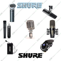 SHURE  Owners, data sheets,  service manuals & schematics