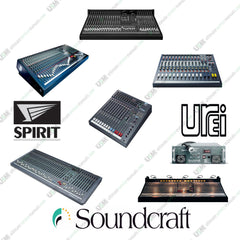 Soundcraft  Ultimate  Operation,  Repair,  Service Manuals  &  schematics  (PDFs on DVD)