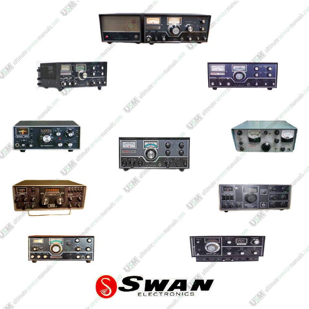 SWAN Ultimate Ham Radio Operation, Repair Service Manuals