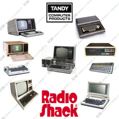 Radio Shack  Tandy  Ultimate TRS-80 computers series Owners & repair service manuals on DVD
