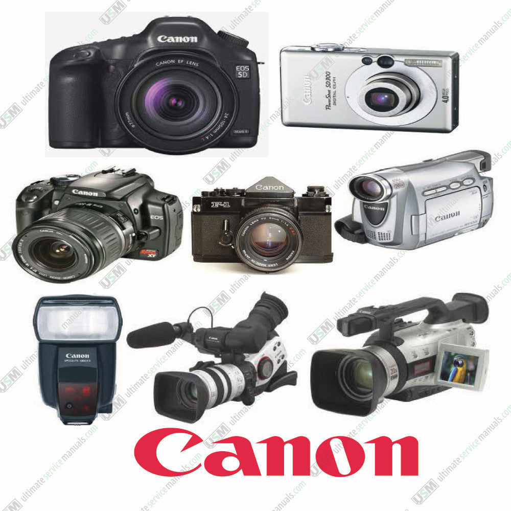 Canon Ultimate repair, parts and service manuals