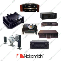 NAKAMICHI  Ultimate owners repair service manuals