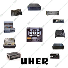 UHER  Ultimate  Operation Repair Service Manuals & Schematics  200 PDF on DVD