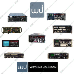 Watkins Johnson  WJ    Ultimate  repair, service, maintenance & owner manuals on DVD