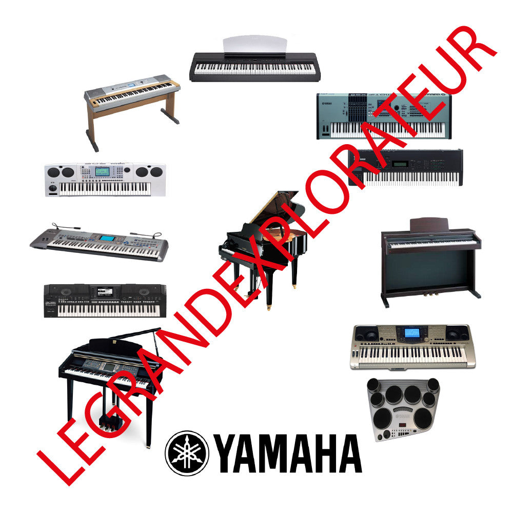 Yamaha Ultimate Keyboards & Pianos repair service manuals on