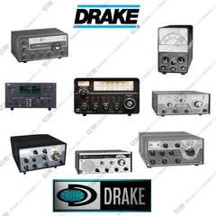 DRAKE Ultimate Ham Radio Operation Repair Service Manuals & Schematics