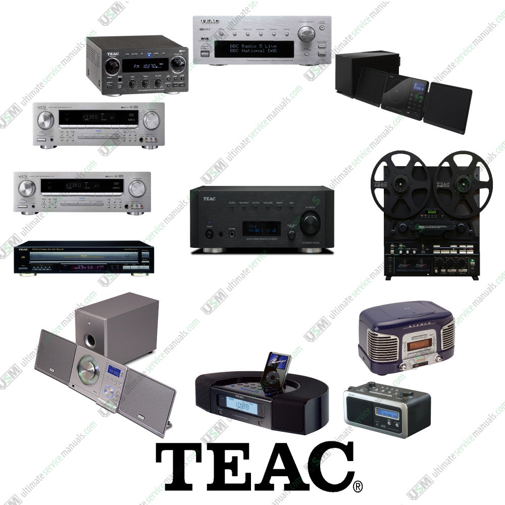 TEAC Ultimate repair service manuals & schematics | Ultimate