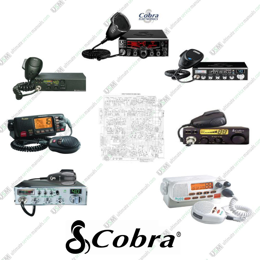 Cobra Dynascan Ultimate Uhf Vhf Cb Radio Repair Service