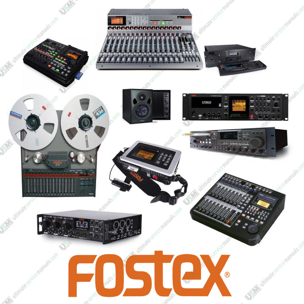 FOSTEX Ultimate owner repair service manuals