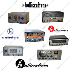 Hallicrafters Ultimate Ham Radio Operation Repair Service Manuals 500 on DVD