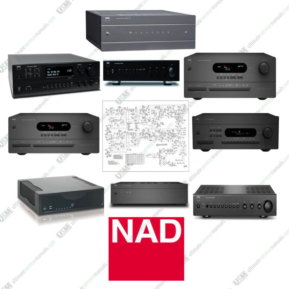 nad ultimate repair schematics service manuals ultimate service rh ultimateservicemanuals com nad 2140 owners manual Brother HL 2140 Drivers