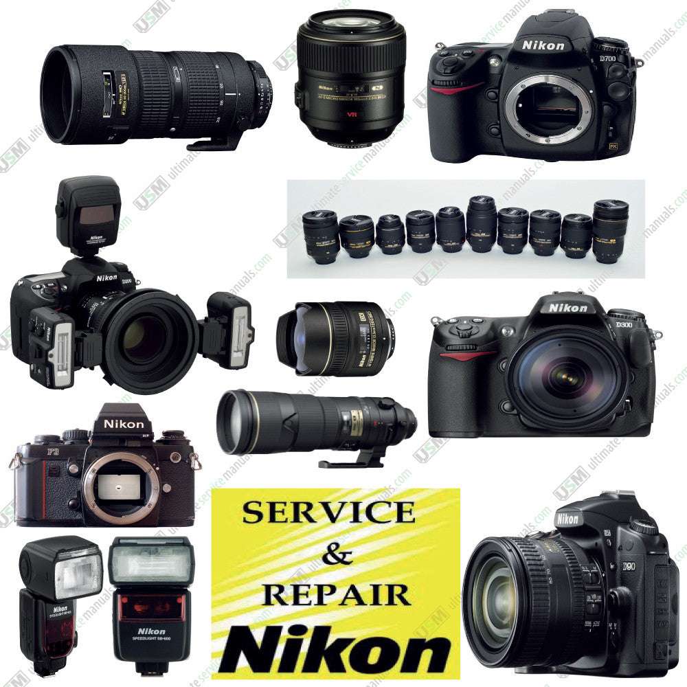 nikon coolpix nikonos ultimate operation repair parts and rh ultimateservicemanuals com Nikon Coolpix S3300 Nikon Coolpix S550 Manual