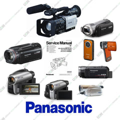 Panasonic Camcorder Ultimate repair service manuals