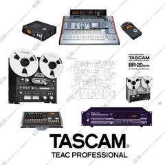 TASCAM Ultimate owner schematic repair service manuals