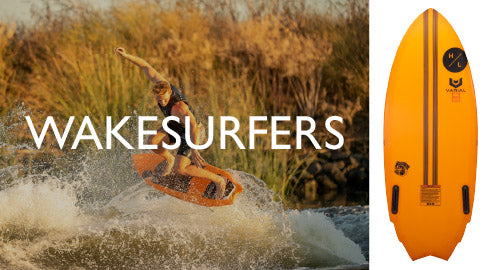 Wakesurf boards collection banner image