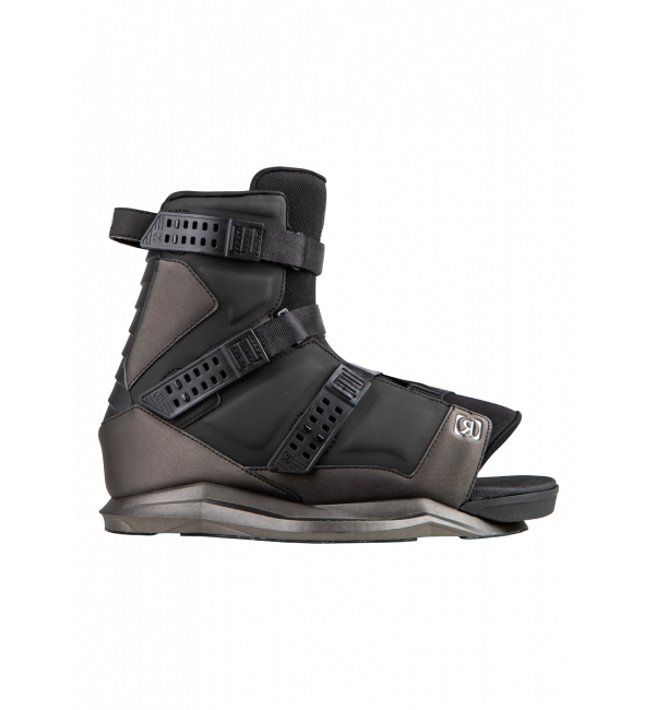 2021 Ronix Anthem Wakeboard Boots - Black - Wakesports Unlimited