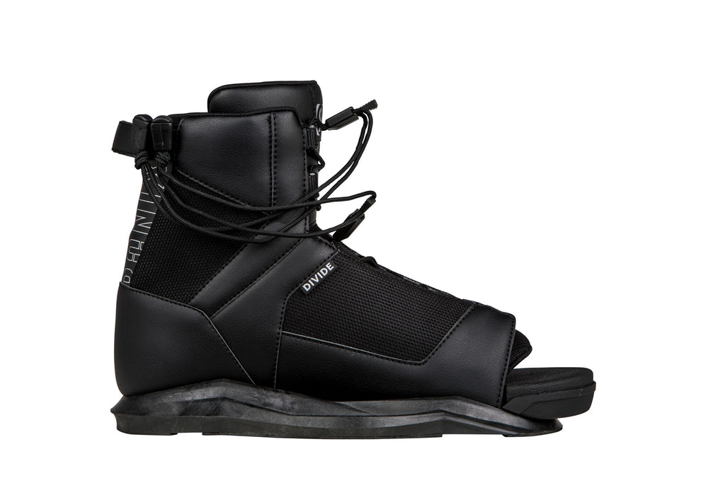 2021 Ronix Divide Wakeboard Boots - Black - Wakesports Unlimited
