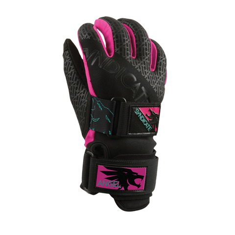 HO Syndicate Angel Waterski Gloves 2018 - Pink / Black - Wakesports Unlimited related-product-img