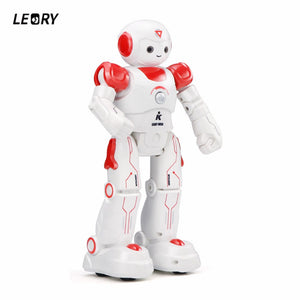 LEORY Remote Control Robot Toy Smart Child RC Robot With Sing Dance Action Figure Program Gesture Toys ForKid Christmas gift