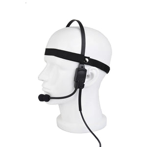 Z-Tactical Z-Tac Z136 Military Tactical Headset Signal bone conduction Speaker mh180-v Airsoft Earphone Midland Ptt