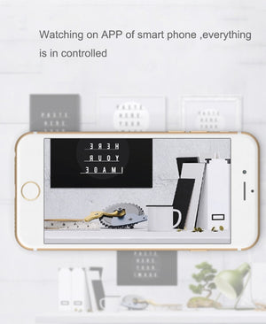 Mini WIFI AI Camera IP P2P Remotely Monitoring CCTV Cam Home Security Baby Monitor 360 Degree Angle IR Night Vison Motion Detect