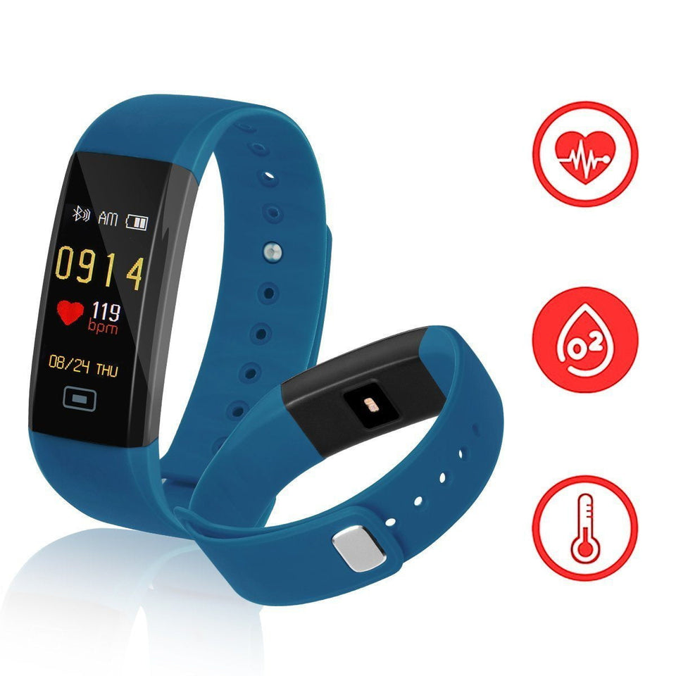 Colourful - Smart Bracelet Watch Fitness Tracker
